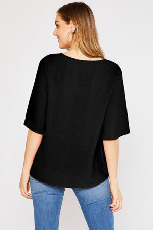 Airflow Flutter Sleeve Top
