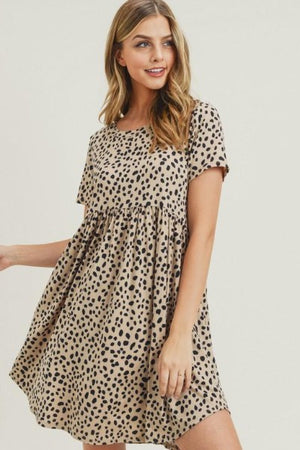 Dalmation Babydoll Dress
