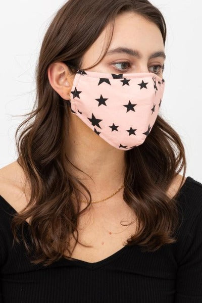 Star Fashion Face Mask