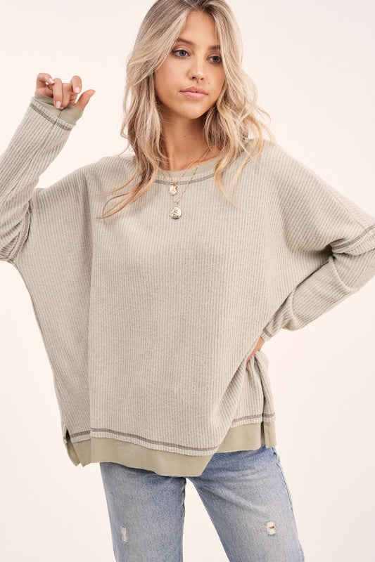 Soft Layered Look Top