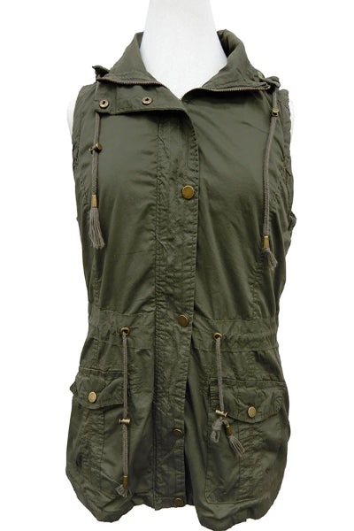 Plus Bennington Cargo Vest - Free Souls Boutique