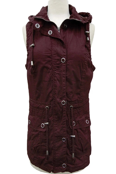Bender Cargo Vest With Detachable Hood - Free Souls Boutique