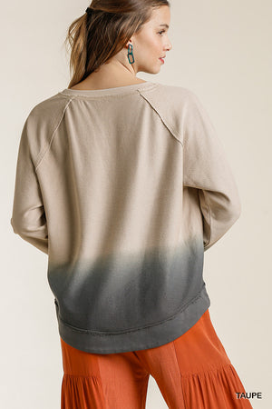 Split Dyed LS Top