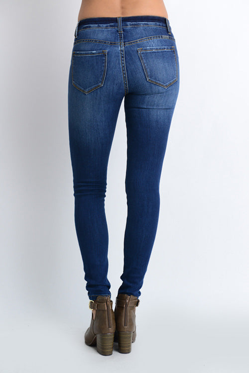 Basic Non Distressed Skinny Jeans - Free Souls Boutique