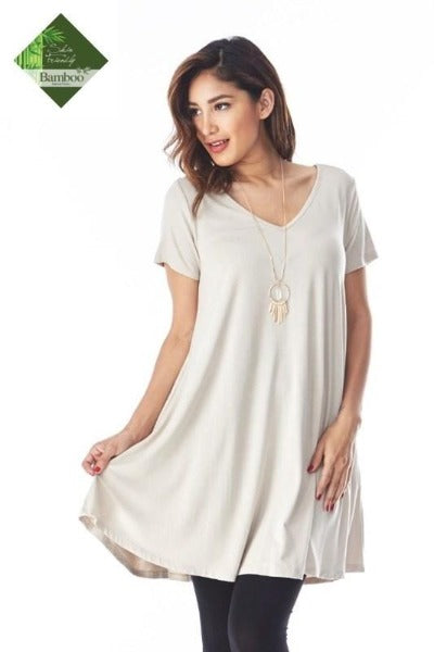 Bamboo Swing Pocket Dress