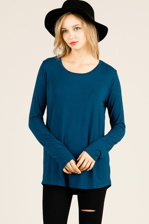 Bamboo Long Sleeve Top - Free Souls Boutique