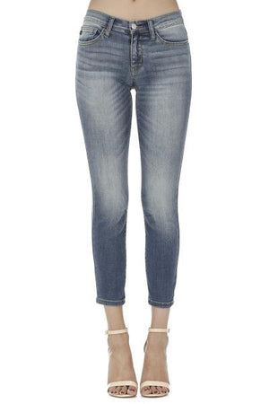 Handsand Relaxed Mid-rise Crop Jeans - Free Souls Boutique