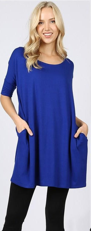 Zen Short Sleeve Pocket Tunic