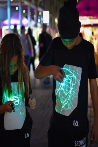 Youth Interactive Glow Shirt - Free Souls Boutique
