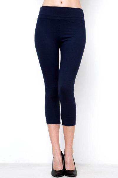 Peach Skin Capri Leggings - Free Souls Boutique