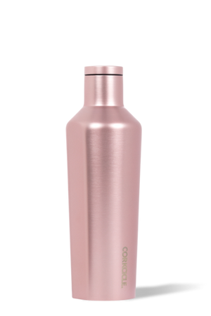 Corkcicle 16 oz Canteen - Rose Metallic - Free Souls Boutique