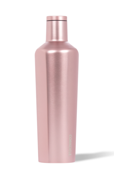 Corkcicle 25 oz Canteen - Rose Metallic - Free Souls Boutique