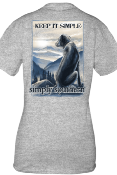 SS Guys Mountain Dog Keep It Simple Shirt