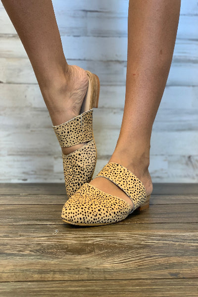 Carina Brown Speckled Slip-On - Free Souls Boutique
