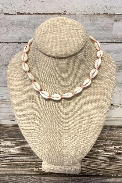 "14"" Cowry Shell Necklace - Free Souls Boutique"