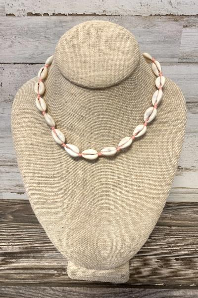 Bead Knot Cowry Shell Necklace - Free Souls Boutique