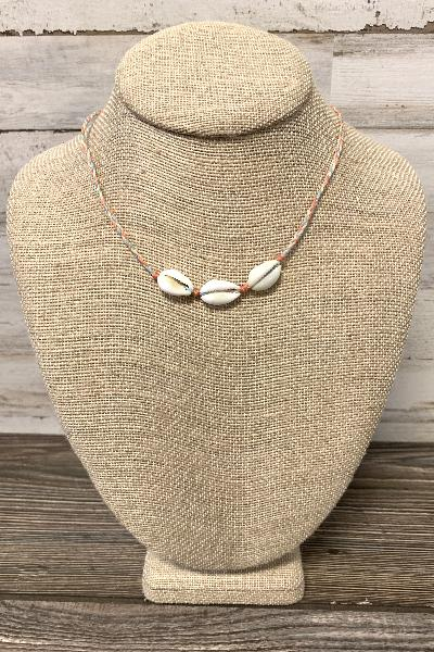 Braided String Cowry Shell Necklace - Free Souls Boutique