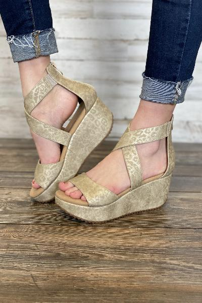 Fay Leopard Wedge - Free Souls Boutique