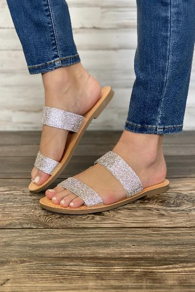 Among Double Strap Sandal - Free Souls Boutique