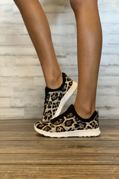 Wild Child Leopard Slip-On Sneaker - Free Souls Boutique