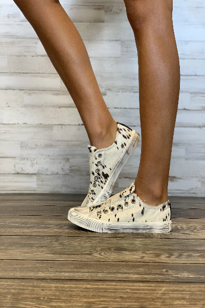 Wildlife Distressed Slip-On Sneaker - Free Souls Boutique