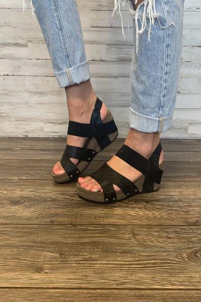 Fig Wedge Sandals - Free Souls Boutique