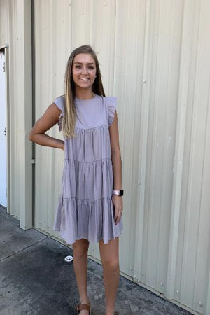 Tiered Babydoll Dress - Free Souls Boutique