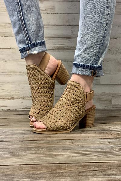 Brinkley Woven Upper City Wedge - Free Souls Boutique