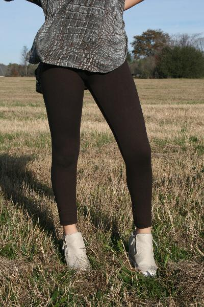 Peach Skin Full Length Leggings - Free Souls Boutique