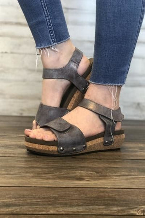 Cargo Wedges - Free Souls Boutique