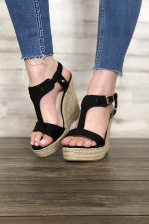 Patty Espadrille Wedge Sandal - Free Souls Boutique