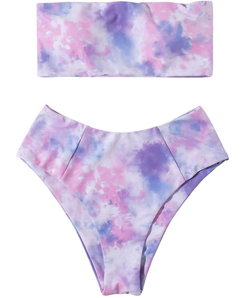 Tie Dye 2 Piece Swimsuit