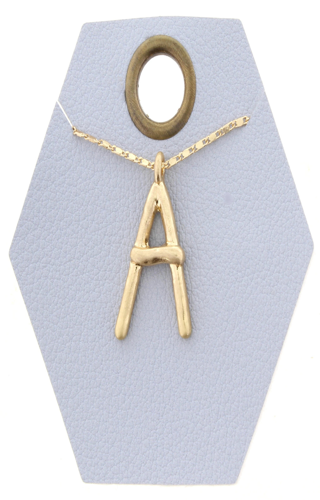 JM Say My Name Initial Necklace - Free Souls Boutique