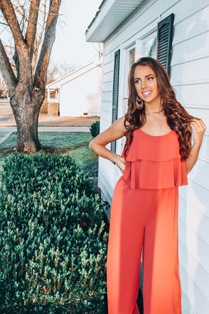 Layered Top Sleeveless Jumpsuit - Free Souls Boutique