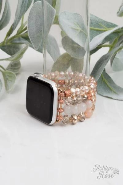 Blush & Rose Gold Smart Watch Band - Free Souls Boutique