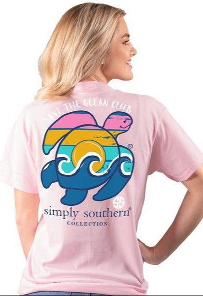 SS Save The Ocean Club Waves Shirt