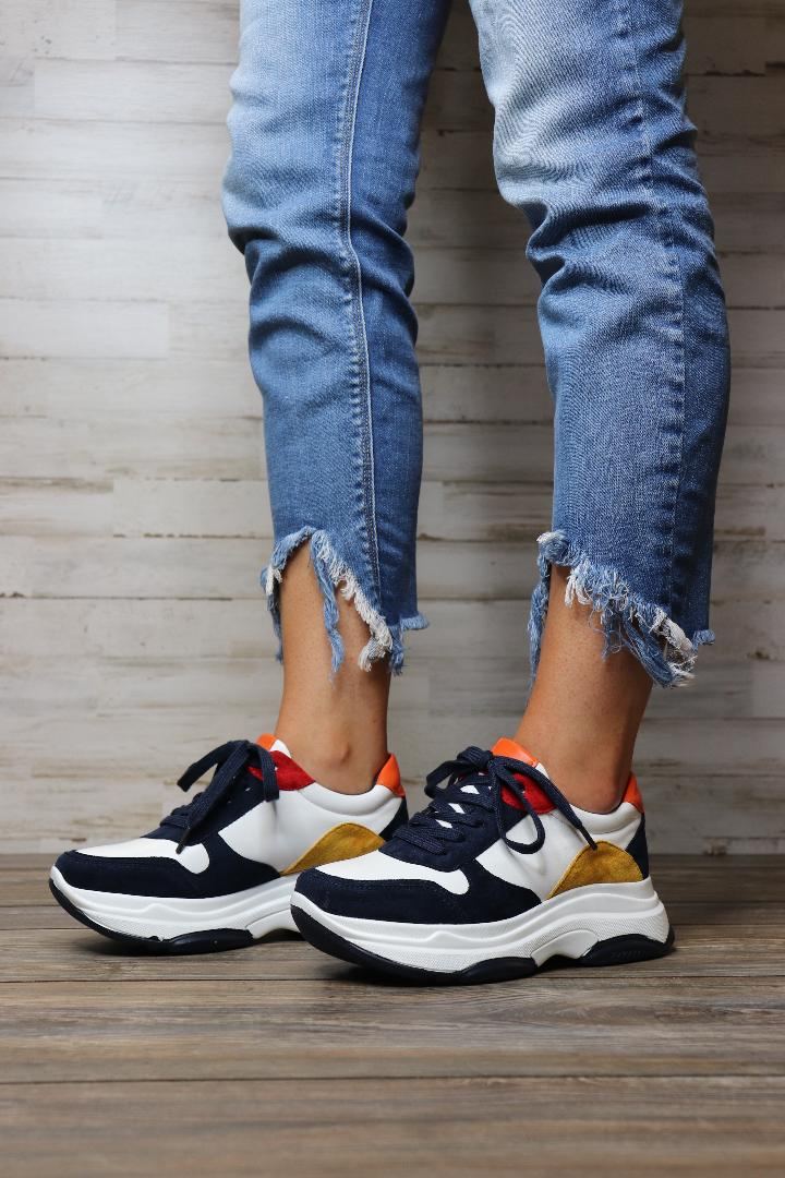 Sunny Retro Sneakers - Free Souls Boutique