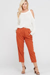 Tailored Pocket Pants - Free Souls Boutique