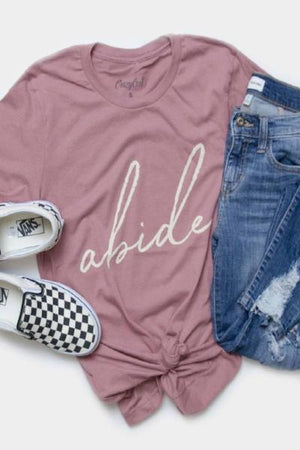 Abide Graphic Tee - Free Souls Boutique