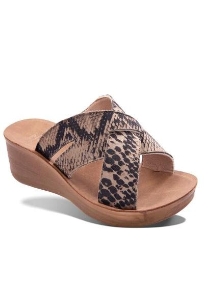 Imani Snake Sandals - Free Souls Boutique