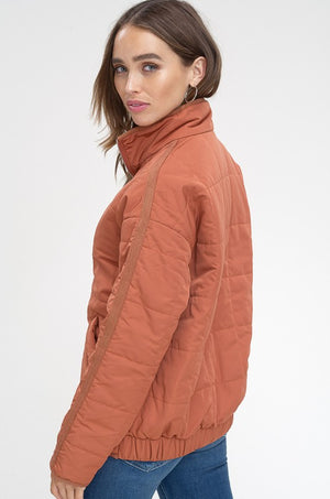 Quilted Padding Jacket - Free Souls Boutique