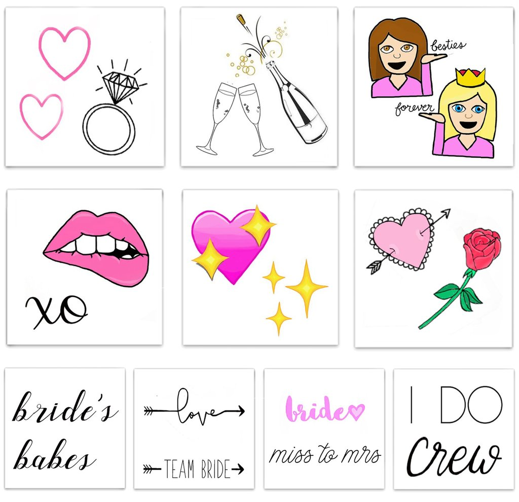 Inked Temporary Tattoos - Bride To Be - Free Souls Boutique