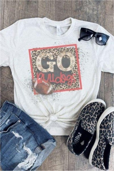 Go Bulldogs Graphic Tee