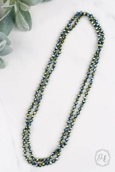 "Essential 60"" Wrap Bead Necklace - Free Souls Boutique"