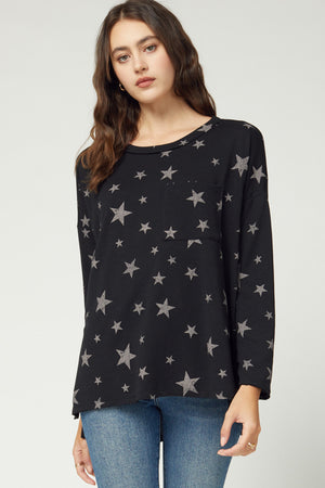 Scoop Pocket Star Top