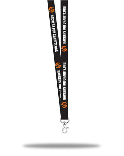 Hackers for Charity Collectable Lanyard