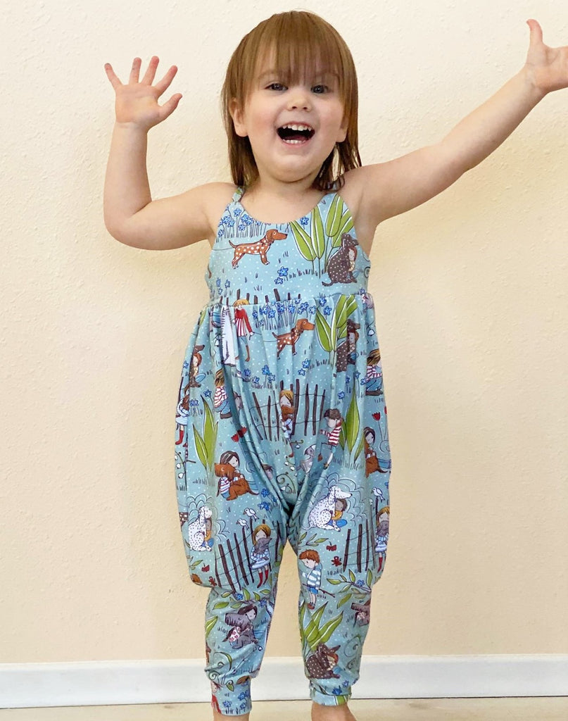 Limited Edition Organic Toddler and Children's Romper