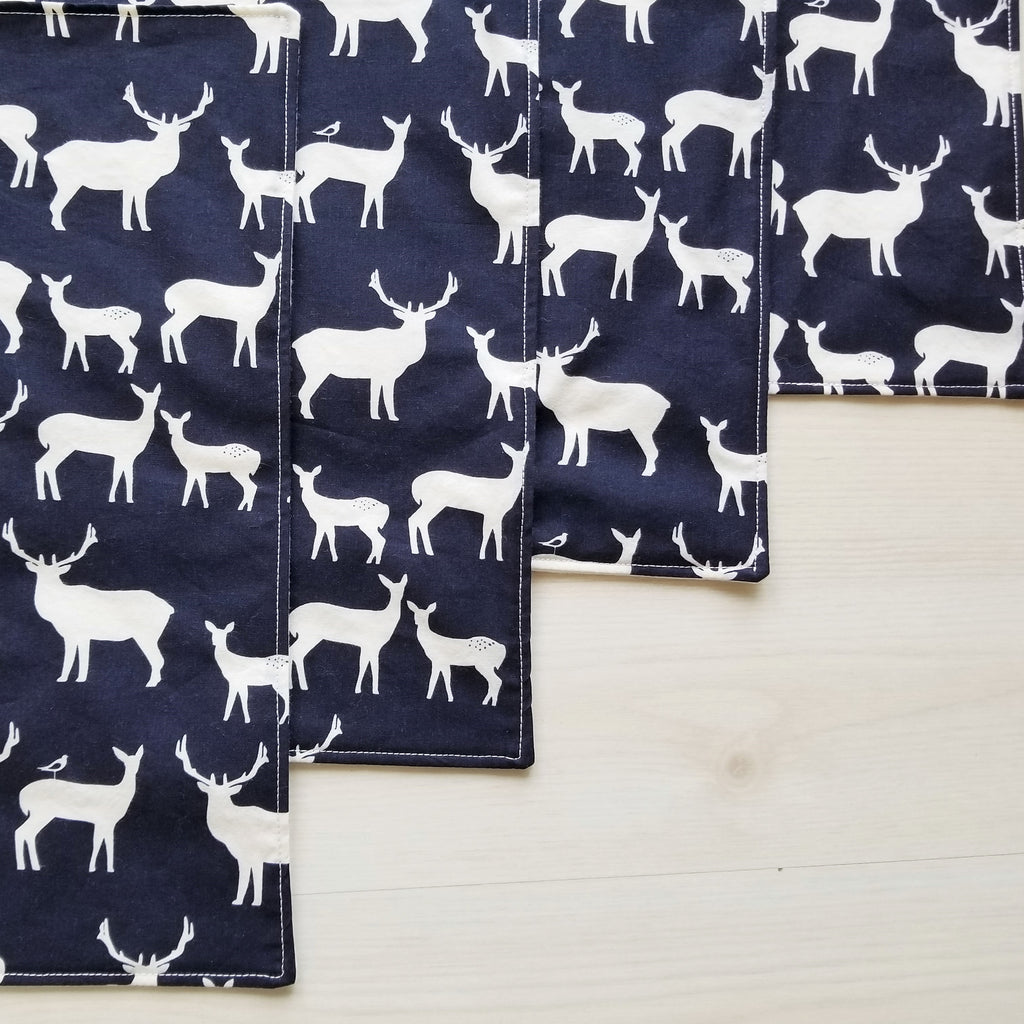 Modern Farmhouse Organic Cotton Placemats