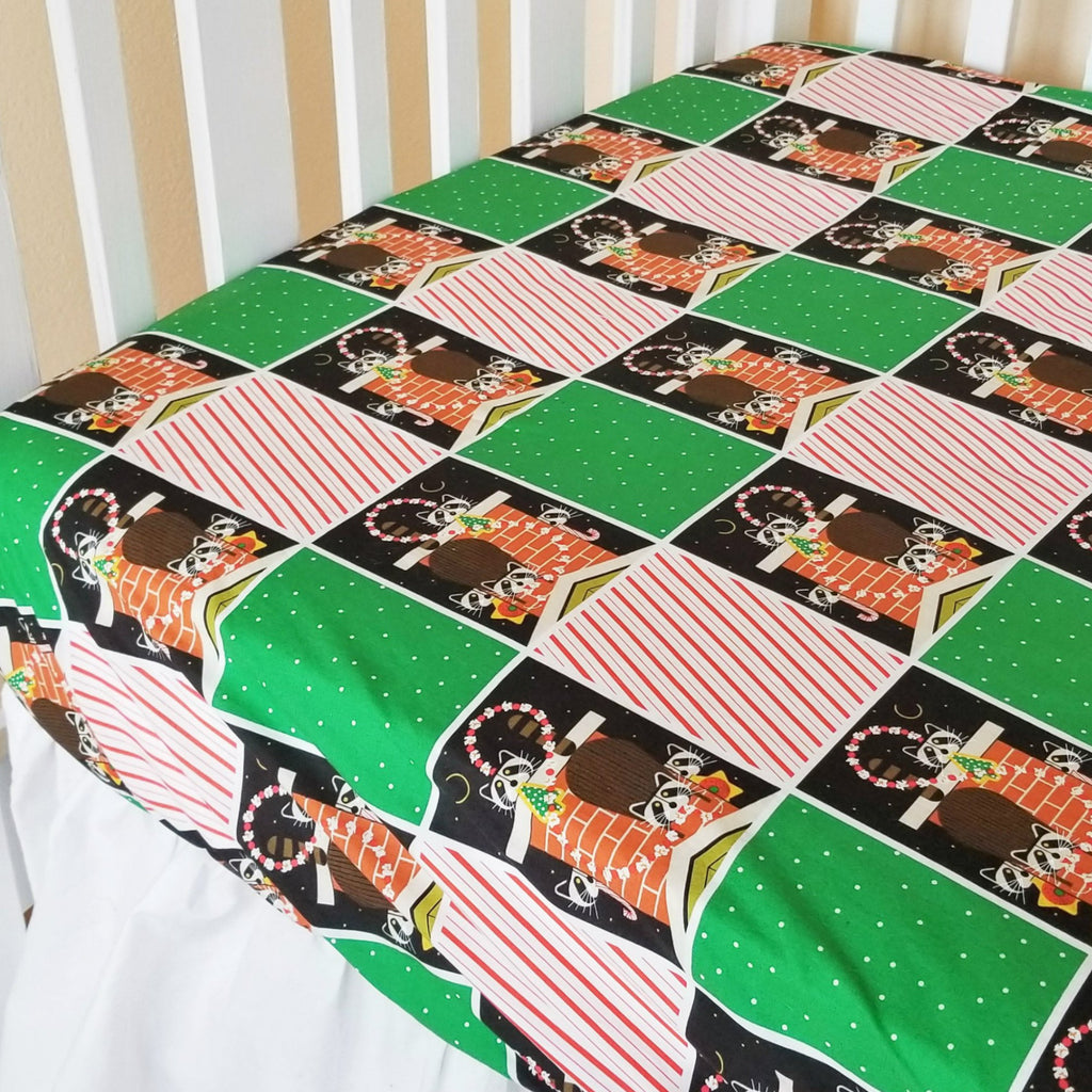 Holiday Crib & Toddler Sheets in Charley Harper Prints