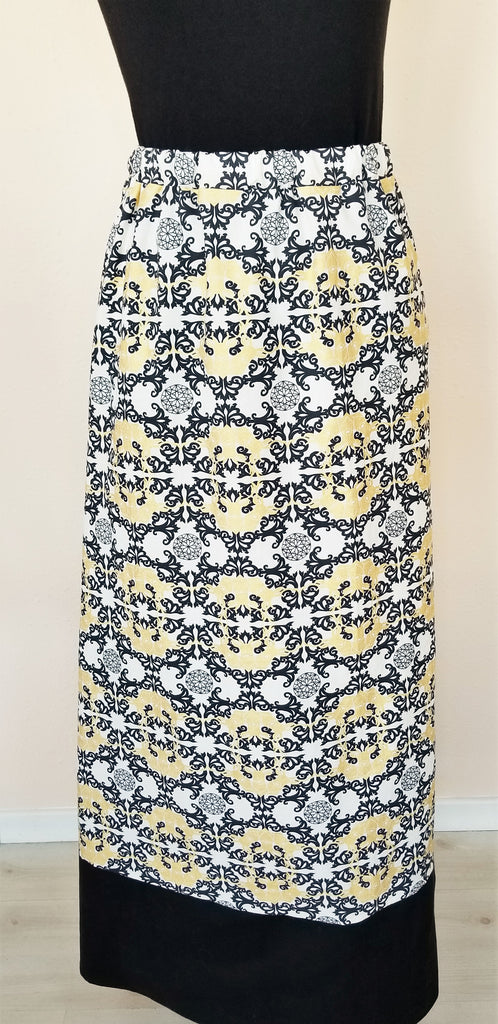 Mommy and Me - Organic Cotton Girl's Dress - Organic Cotton Women's Maxi Skirt - Mod Nouveau